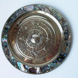 Abalone Shell, metal plate by Alpaca (#EV217)